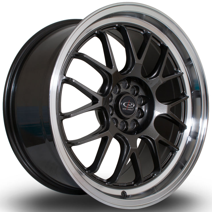 Rota Wheels MXR RL Gunmetal - Drop It Shop - AIRLIFT PERFORMANCE
