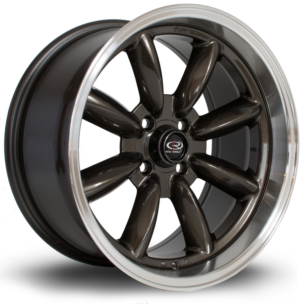 Rota Wheels RBR  Gunmetal RL - Drop It Shop - AIRLIFT PERFORMANCE