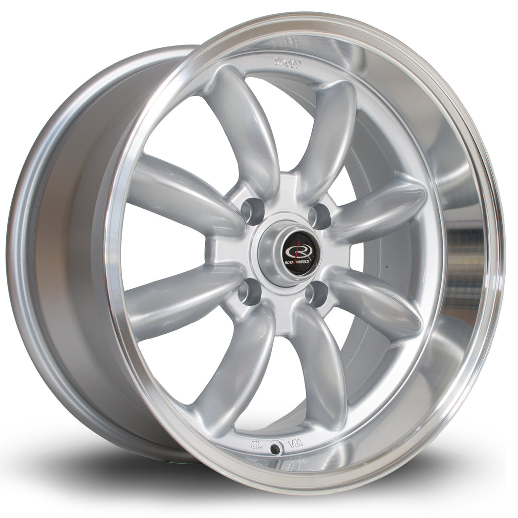 Rota Wheels RBR Silver RL - Drop It Shop - AIRLIFT PERFORMANCE