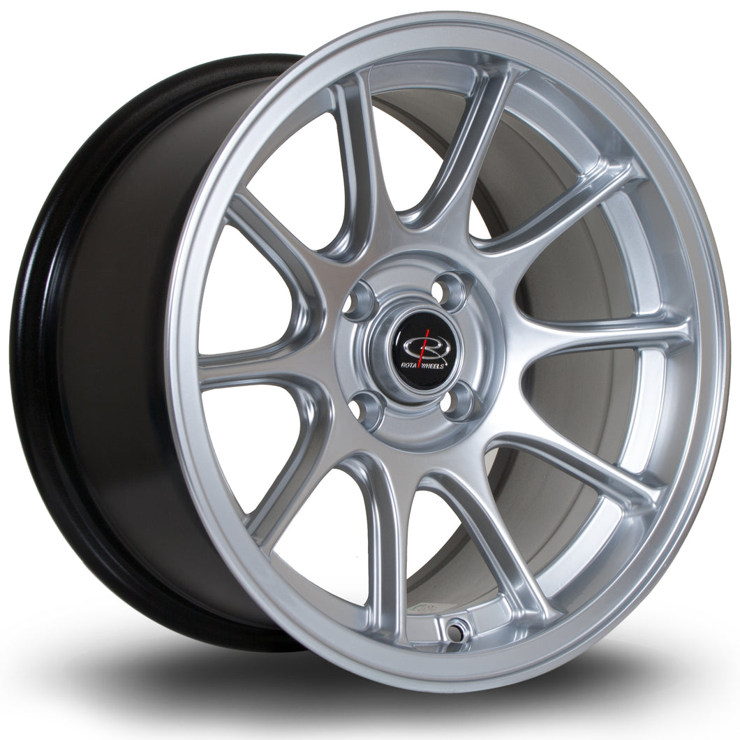 Rota Wheels Strike Hyper Silver - Drop It Shop - AIRLIFT PERFORMANCE