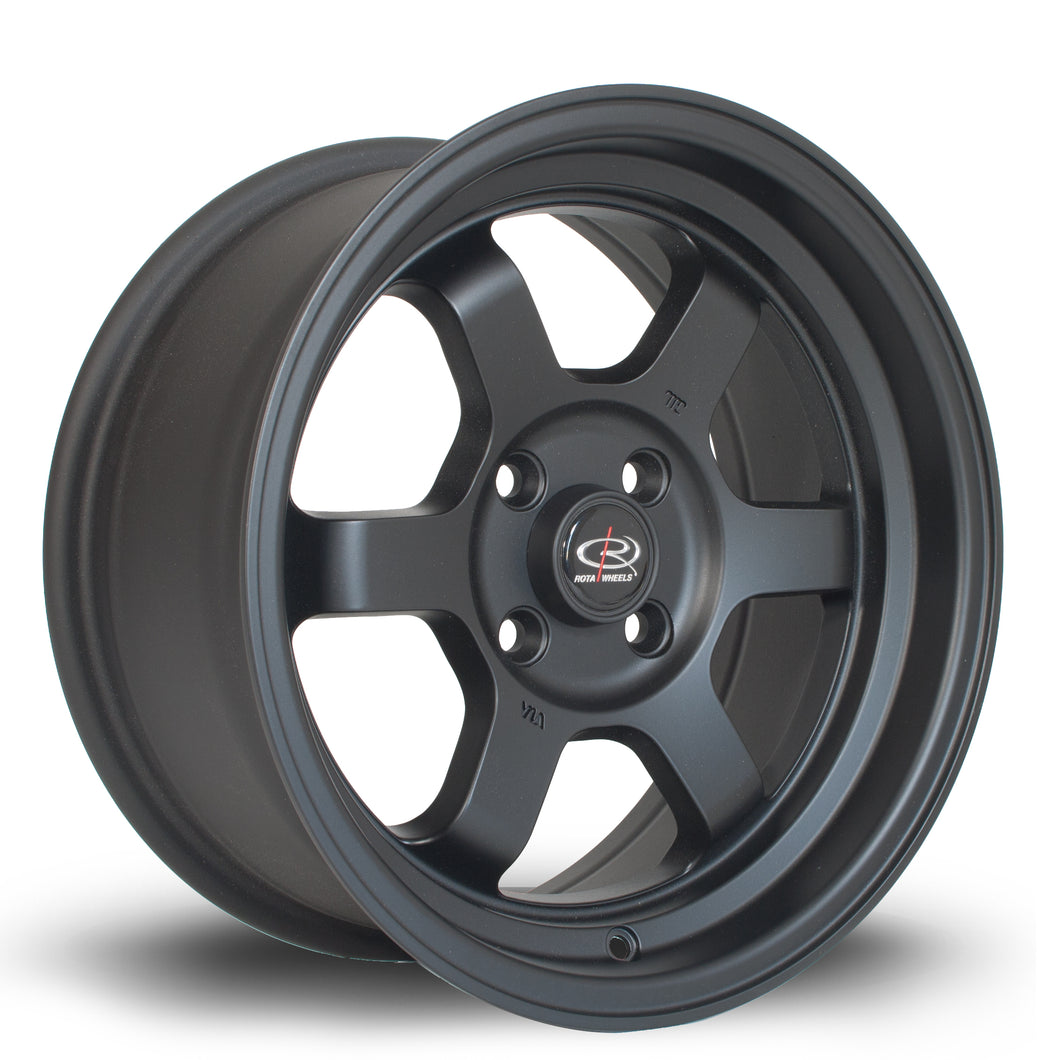 Rota Wheels Grid-V F Black - Drop It Shop - AIRLIFT PERFORMANCE