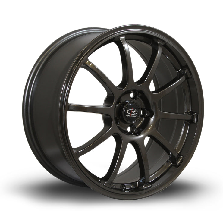 Rota Wheels Force Gunmetal - Drop It Shop - AIRLIFT PERFORMANCE