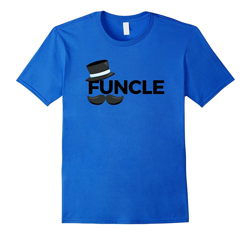 252fc300 Mens Funcle TShirt with Top Hat and Moustache T-Shirt - Teezeep Store