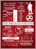 Image of The Piker Manifesto Poster