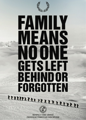 FAMILY/NO ONE LEFT BEHIND Poster