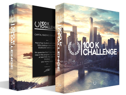 The $100,000 Challenge Training Boxset