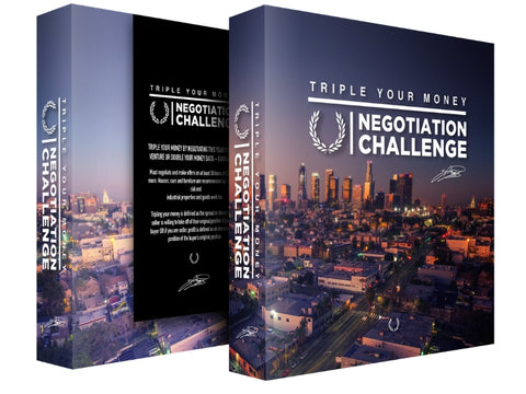 Triple Your Money Negotiation Challenge Boxset