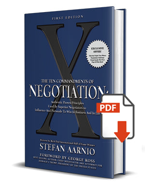 X: The Ten Commandments of Negotiation E-Book PDF