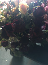 Fresh cut flowers - Rust, Coral, Crimson, Red