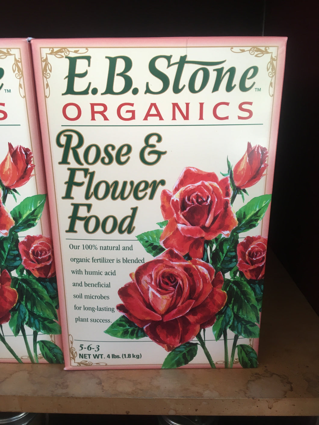 Rose & Flower Food 4lb box (in store)