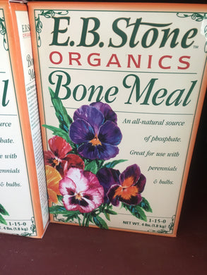 Bone Meal 4lb box (in store)