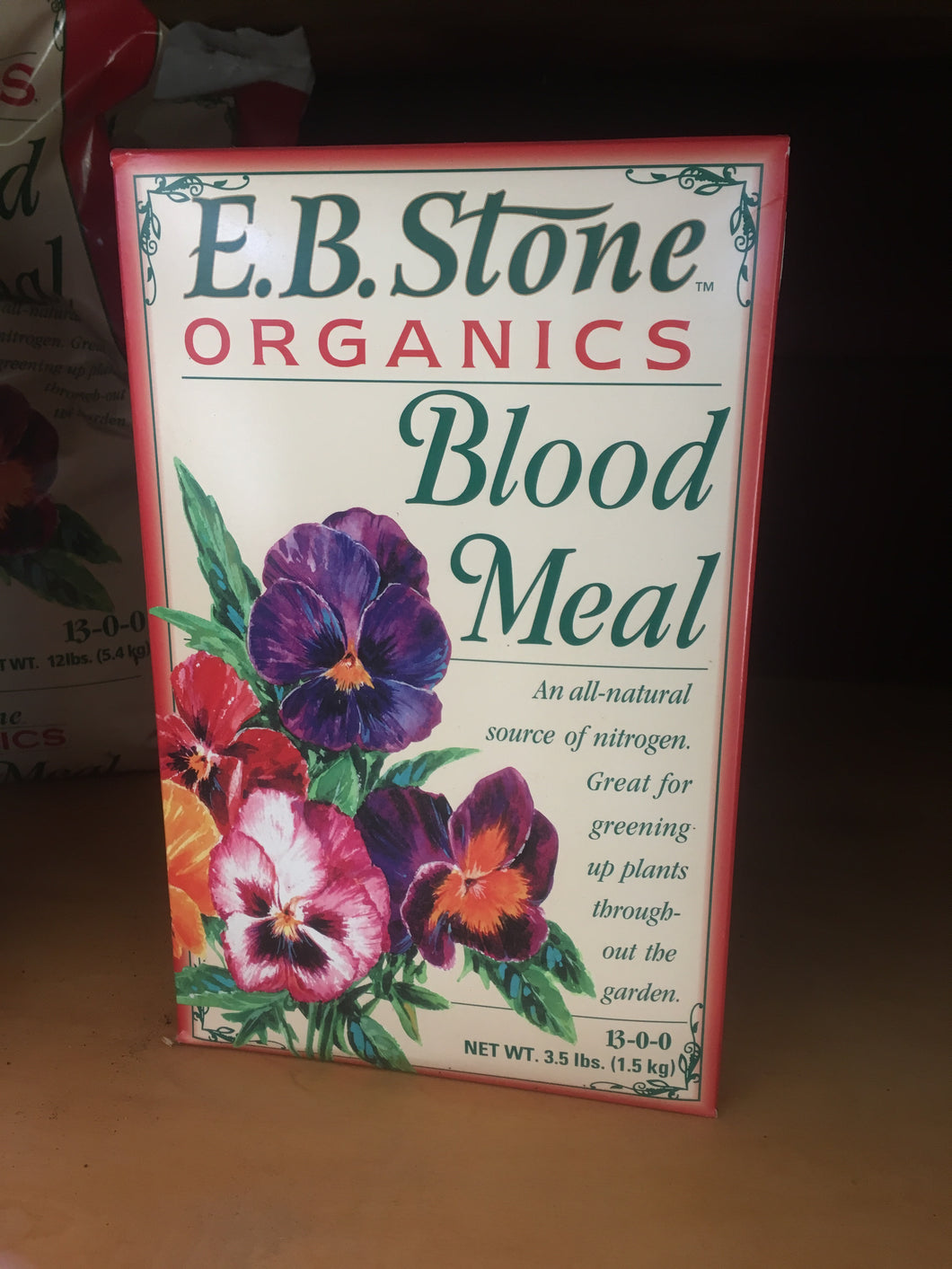Blood Meal 3.5lb (in store)