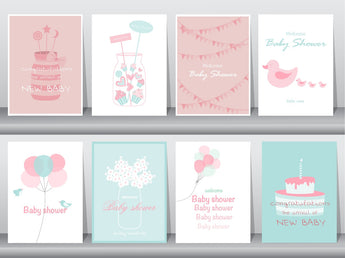Twins Greeting Cards, Invitations, Announcements