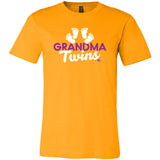 """Grandma of Twins"" Short Sleeve Tee"