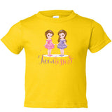 The Twincesses Toddler Tee (2T-4T) Available in Multiple Colors