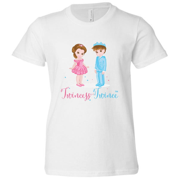 """Twincess and Twince"" Youth Tee (S-L) Available in Multiple Colors"