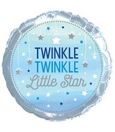 "Twinkle, Twinkle Little Star - 18"" Balloon Boy(s)"