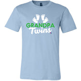 """Grandpa of Twins"" Short Sleeve Tee"