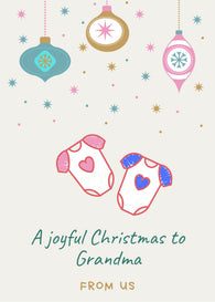 A Joyful Christmas to You - Personalization Available