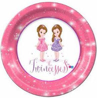 "The Twincesses Dinner 9"" Plates - 8 Count"