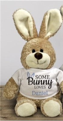 Personalized Stuffed Bunny