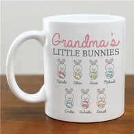 Personalized Little Bunnies  Coffee Mug