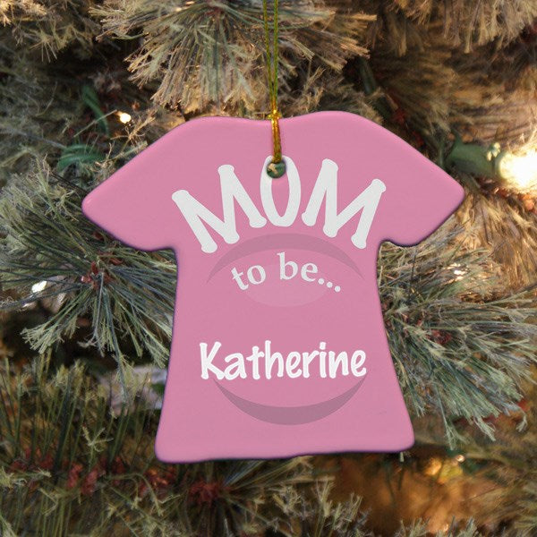 Mom to Be Ornament (Personalization Available)
