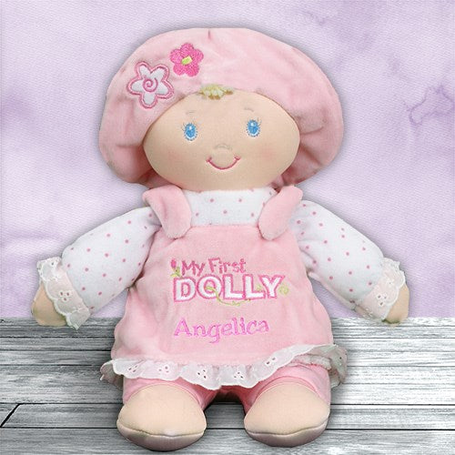 My First Doll - Personalized