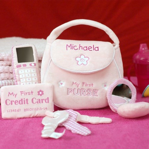My First Purse - 4 Piece Set - Personalized