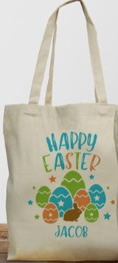 Easter Personalized Tote Bag