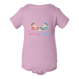"""Twincess and Twince"" Babies Bodysuit (NB-24M) Available in Multiple Colors"
