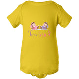 """The Twincesses Babies""  Bodysuit (NB-24M) Available in multiple colors"