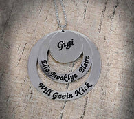 Personalized Engraved Necklace ($57+)