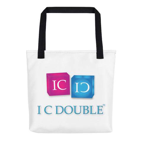 I C Double Tote bag