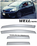 09-14 HONDA FIT WellVisors Side Window Wind Deflector Visors