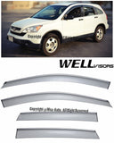 07-11 HONDA CRV WellVisors Side Window Wind Deflector Visors