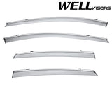 17-UP BUICK LACROSSE WellVisors Side Window Wind Deflector Visors