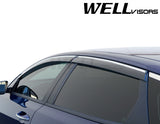 16-17 KIA OPTIMA WellVisors Side Window Wind Deflector Visors