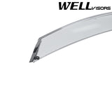 16-18 TOYOTA TACOMA WellVisors Side Window Wind Deflector Visors