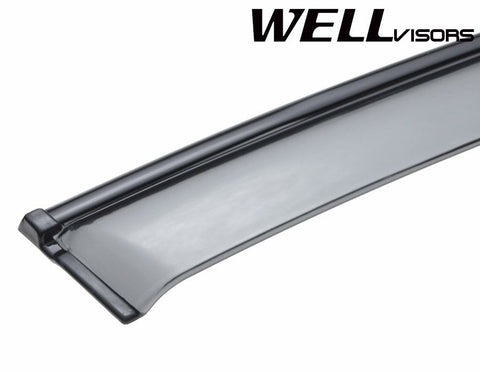 06-11 MERCEDES BENZ W164 WellVisors Side Window Wind Deflector Visors