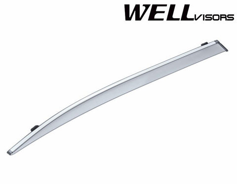 07-16 LEXUS LS460L / LS600HL WellVisors Side Window Wind Deflector Visors