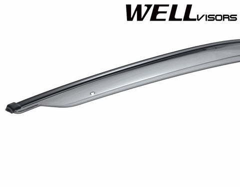 07-16 JEEP PATRIOT WellVisors Side Window Wind Deflector Visors