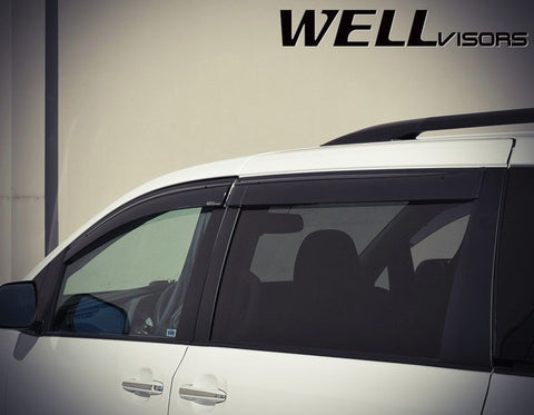 11-16 TOYOTA SIENNA WellVisors Side Window Wind Deflector Visors