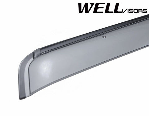 14-16 MITSUBISHI OUTLANDER WellVisors Side Window Wind Deflector Visors