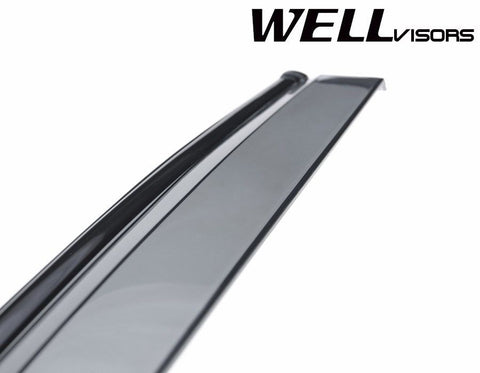 10-16 VOLVO XC60 WellVisors Side Window Wind Deflector Visors
