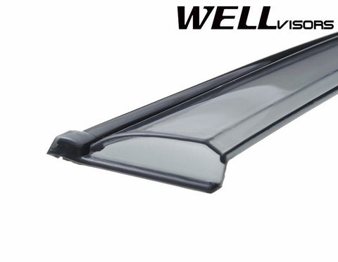 11-16 BMW F25 WellVisors Side Window Wind Deflector Visors