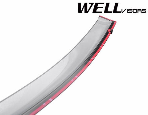 08-15 TOYOTA VENZA WellVisors Side Window Wind Deflector Visors