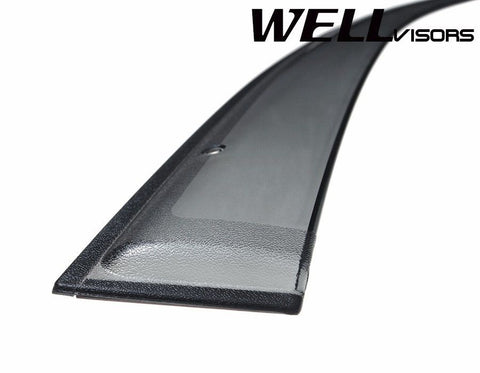 02-05 HYUNDAI SONATA WellVisors Side Window Wind Deflector Visors
