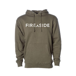 Fireside Pullover Hoody - army green