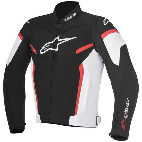 ALPINESTARS T-GP PLUS R V2 BLACK WHITE RED - Veste Textile